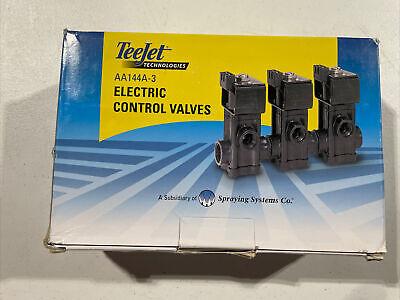 Aa144a-3 Teejet Directovalve Electric Solenoid Valve
