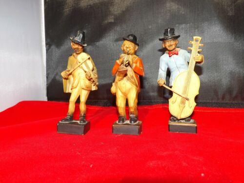 Vintage Jazz Musician Figurines 3 Pieces