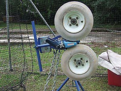 pitching machine jugs with a 14' x 70' heavy duty batting - Heavy Duty Pitching Machine