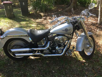 Harley Fatboy Murwillumbah Tweed Heads Area Preview