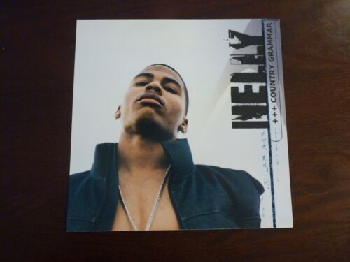 Nelly Country Grammar 2000 LP Record Photo Flat 12x12 Poster