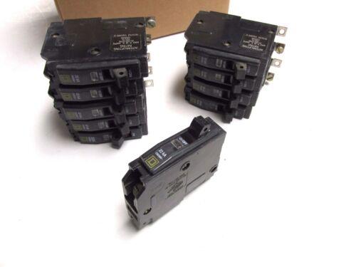 Square D 20A, 1P Circuit Breakers Bolt-on Cat# QOB120VH ( Box of 10)  .. UA-605