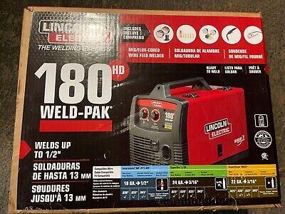 Lincoln Electric 180hd Weld Pak Mig Tig Pro 180 Hd Wire Feed Welder K2515-1