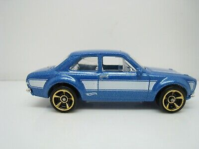 HOT WHEELS FORD ESCORT RS 1600 BLUE FAST AND FURIOUS THAILAND MINT DIECAST 17