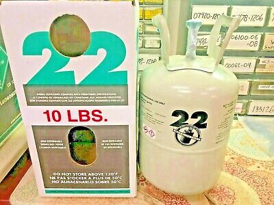 NEW, R22 Refrigerant 10 Lb Factory Sealed Made In USA, Free Same Day Shipping