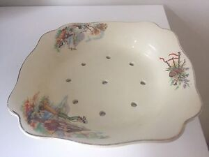 Vintage Sunshine J & G Meakin England Vegetable Straining Dish Kensington Eastern Suburbs Preview