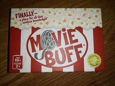 Movie Buff - Movie Card Game - Great Shape