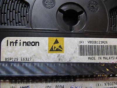Bsp129e6327 Infineon Trans-mosfet N-ch 240v 0.35a 4-pin 3tab Sot-223 10 Piece