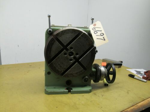 "Walter Model RLW 250A 10"" Rotary Table (CTAM #6697)"