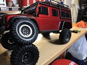 Traxxas trx4 upgraded and barely used