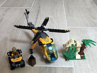LEGO City 60158 Giungla. Trasporto Con Elicottero - Usato Come Nuovo