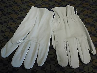 Drivers Straight Thumb - Select Grain Cowhide Leather Straight Thumb Body Guard® Driver's Gloves XL