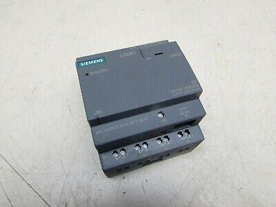 Siemens Logo Bm 230rceo 6ed1052-2fb08-0ba0 Xlnt Used Takeout Moffer