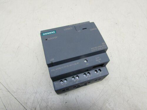 SIEMENS LOGO! BM 230RCEo 6ED1052-2FB08-0BA0 XLNT USED TAKEOUT M/OFFER !