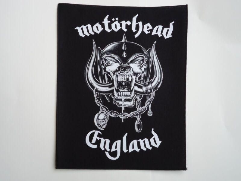 MOTORHEAD ENGLAND PRINTED BACK PATCH