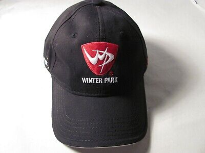Black Winter Park Colorado Baseball Hat Coca Cola Sprint Advertising BULA 2012