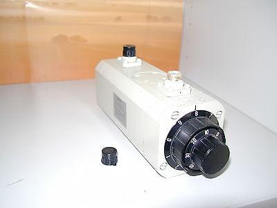 Abschwächer Spinner 0..79 dB , 0..1 Ghz, P = 1 Watt   TV 75 Ohm
