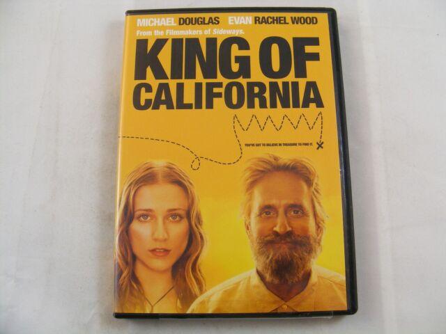 KING OF CALIFORNIA - Michael Douglas, Evan Rachel Wood DVD EXCELLENT CONDITION
