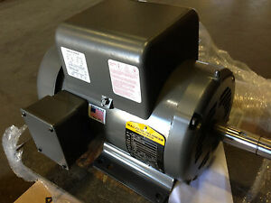 5 hp air compressor motor ebay for Baldor 5 hp compressor motor