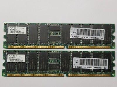 Micron 4GB 184p PC2700 DDR333 2Rx4 CL2.5 ECC RDIMM RAM MT36VDDT51272XY-335A2