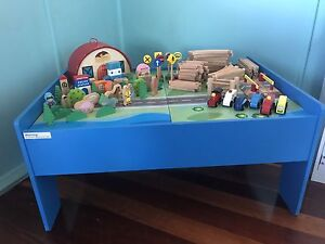 Train / Play Table with accessories Golden Beach Caloundra Area Preview