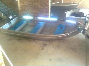 aluminium tinny boat only for sale . NO MOTOR , NO OARS, Soldiers Point Port Stephens Area Preview