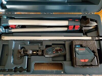 Bosch Gll 150 E Professional Self Leveling Laser Kit With Bosch Lr3 Receiver