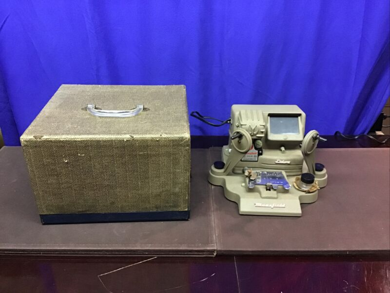 MANSFIELD model P-960 16mm Portable action film Editor with case  VGC