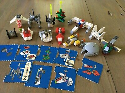 Lot of 13 LEGO Star Wars Micro Builds from 2011 Advent Calendar (7958)-Free Ship