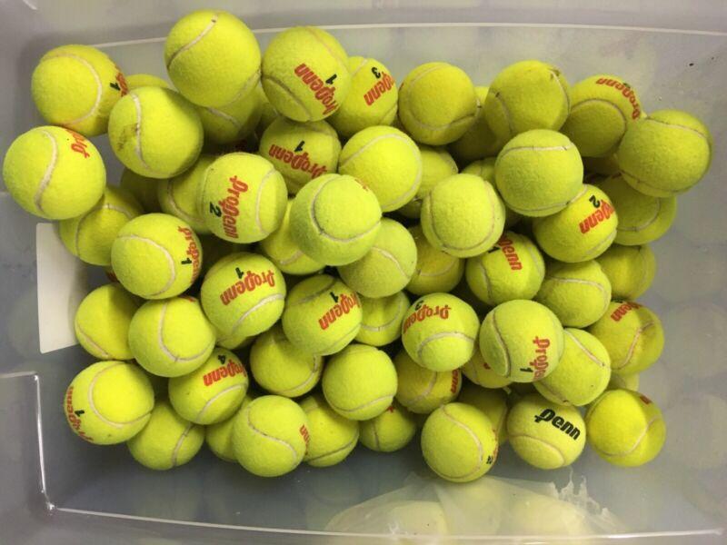 Tennis Ball Penn 100 Pcs  Used Graet Condition