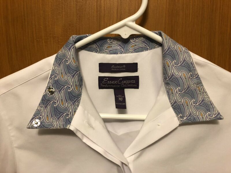 Essex Classics Coolmax Show Shirt - Ladies Size 30
