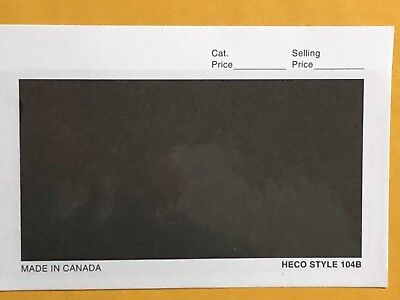 100 DEALER CARDS HECO  104B 4 7/8 X 3 1/4  *** WE SUPPORT AND HELP OUR VETS***