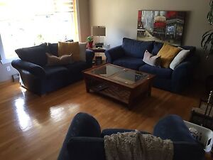 Living room with two tables