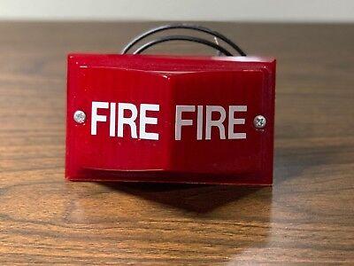 New Vintage Rare Simplex 2904-9052 Fire Alarm Remote Light Red 120 Vac