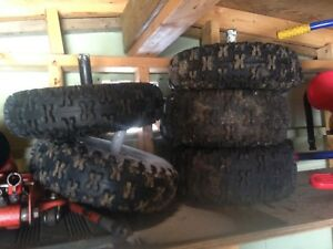 Snow blower tires