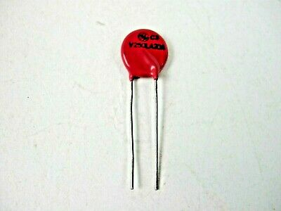 Mov Metal Oxide Varistor 250 Volt 20 Amp 250v20aqty 5 Eak1