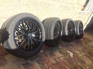 Racing 18 inchs wheels 5x 114.3 Nollamara Stirling Area Preview