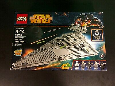 Lego Star Wars Imperial Star Destroyer (75055) *Read Description*