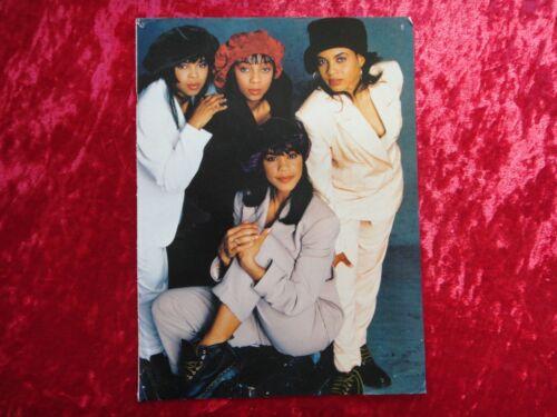 EN VOGUE R&B DIVAS Magazine page clipping / MINI POSTER R&B HIP HOP MEMORABILIA
