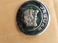JAGUAR OEM 00-06 XKR Front Fender Emblem Badge Nameplate Left HJD5771AA