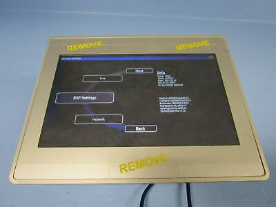 Uniop Etop07 Operator Interface Panel Touchscreen 7 Ethernet Etop407u301