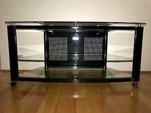 GECKO Glass TV Stand/Entertainment Unit Bondi Junction Eastern Suburbs Preview