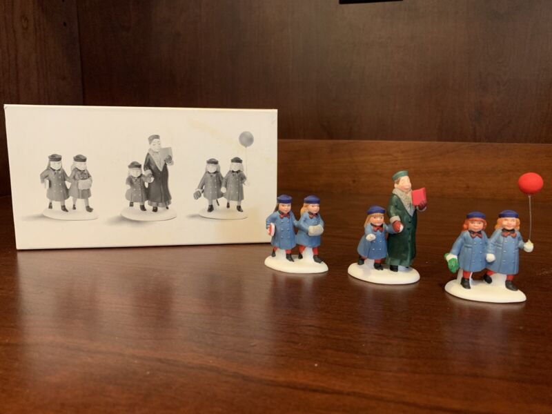 Department DEPT 56 The Heritage Village Collection Holiday Field Trip 5885-8