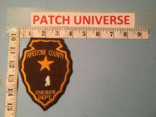 PIPESTONE COUNTY MINN SHERIFF SHOULDER  PATCH  P043