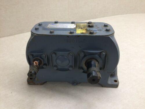 Dorris Gear Drive Reducer Model 1809 Ratio 9-3 1750 RPM 10 HP Double Shaft
