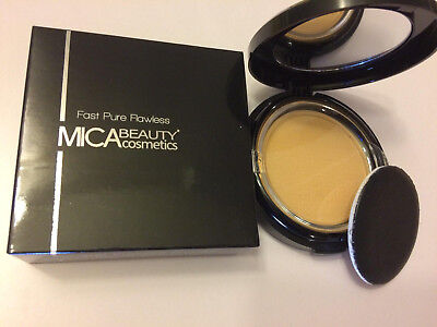 Best Mica Beauty Makeup Mineral Pressed Powder Foundation #MFP3 Toffee Brand New - Beste Mineral Powder Foundation