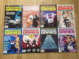 Lot of 26 Electronic Games Magazine 1982-1985