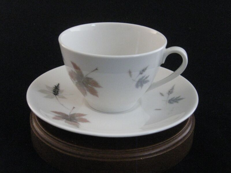 "Royal Doulton ""Tumbling Leaves"" Tea Cup & Saucer Set"