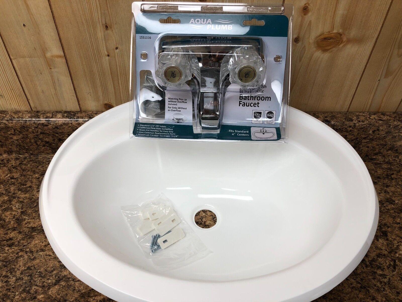 Rv Bathroom Pvc Lavatory Sink