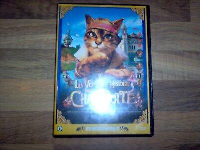 DVD / La Véritable Histoire du Chat Botté / Version Française 2009 / DVD Enfant